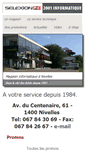 Mobile Preview of 2001informatique.be